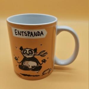 Kaffeetasse aus Keramik Motiv Panda