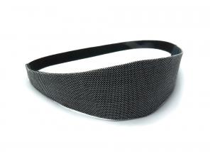 Milo-Schaly Haarband zum Wenden Stirnband schwarz weiß Business Wendehaarband Abschminkband - Handarbeit kaufen