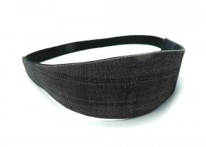 Milo-Schaly Haarband zum Wenden Stirnband schwarz weiß Glencheck Wendehaarband Abschminkband (Kopie id: 100242110) - Handarbeit kaufen
