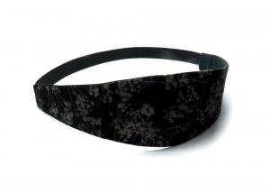 Milo-Schaly Haarband zum Wenden Stirnband schwarz floral Wendehaarband Abschminkband (Kopie id: 100242110) (Kopie id: 100242225) - Handarbeit kaufen