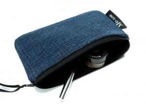 Milo-Schaly Kosmetiktasche Jeans Schminktäschchen Krimskrams Täschchen Kosmetiktäschchen - Handarbeit kaufen