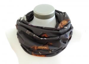 Milo-Schaly Loop Schal Baumwolle Jersey Pferde Loopschal Schlauchschal - Handarbeit kaufen