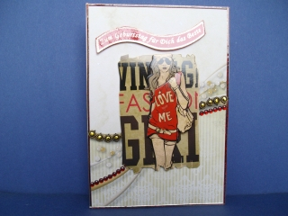 Geburtstagskarte für ein Mädchen / Teenager