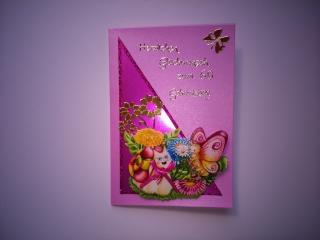 Geburtstagskarte zum 60. ten für eine Frau
