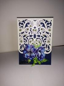 Geburtstagskarte zum 60.ten für eine Frau mit Blumen - Handarbeit kaufen