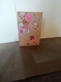 Geburtstagskarte zum 30.ten für eine Frau in rosa verspielt mit Ballons - Handarbeit kaufen