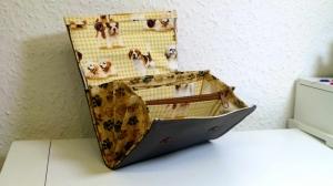 Geldbörse - Portemonnaie - little dogs - Hunde - Nadeltrine