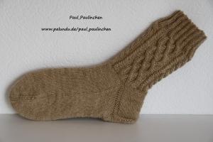 Damensocken in Trachtenoptik Größe 38/39, Art. 4135, handgestrickt bei Paul & Paulinchen  - Handarbeit kaufen
