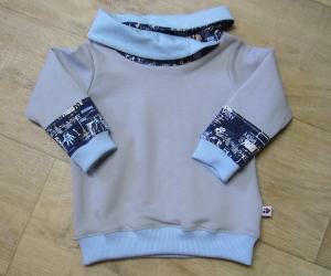 Warmer Kinderhoodie Sweatshirt  Handmade MamiAktiv Gr. 80-86,  - Handarbeit kaufen