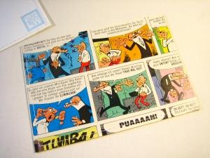 Tolle Postkarte COMIC ♥ *upcycling pur* - Handarbeit kaufen