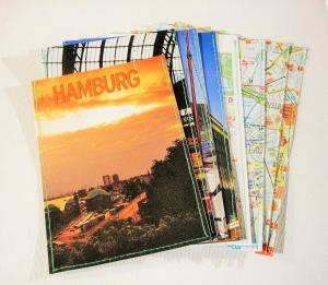 Geschenktüten HAMBURG ♥ 8er-Set mit Geschenkanhänger *upcycling* - Handarbeit kaufen