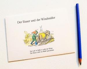 MAX und Moritz ♥ toller Briefumschlag Comic *upcycling pur* - Handarbeit kaufen