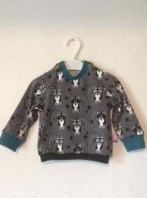 Baby- Langarmshirt Cool Claus, Gr 62