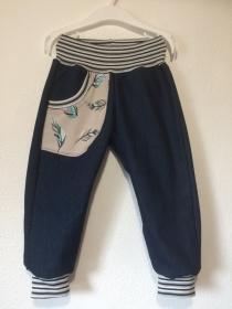 Jeans- Pumphose 86/92
