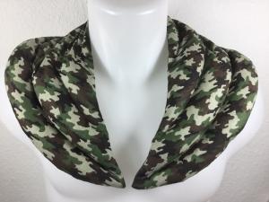 Schulter-Nackenkissen,Nackenhörnchen,Körnerkissen,Wärmerkissen,Camouflage - Handarbeit kaufen