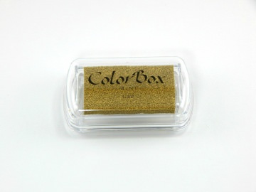 STEMPELKISSEN COLORBOX MINI GOLD