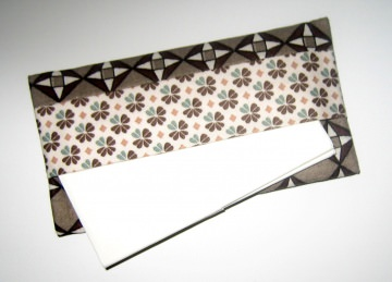 Taschentücher-Etui light, aus Baumwollstoff mit Innenfutter für die Handtasche  - Handarbeit kaufen