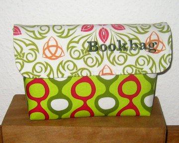 Büchertasche für Taschenbücher, Unikat aus Baumwollstoffen (Kopie id: 48274) (Kopie id: 51879)