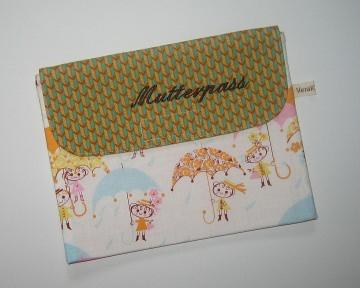 Mutterpass-Etui, Unikat für den Mutterpass, Impfpass, Rezepte, Infozettel und mehr...   - Handarbeit kaufen