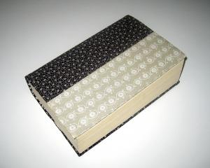 Buchumschlag für Taschenbücher, flexibel, aus Baumwollstoffen    - Handarbeit kaufen