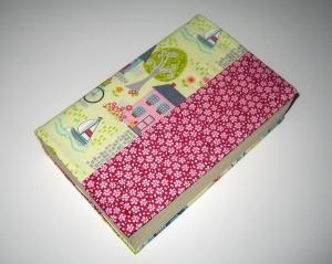 Buchumschlag für Taschenbücher, flexibel, aus Baumwollstoffen