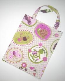kleine Stofftasche, kleiner Stoffbeutel mit Innenfutter aus Baumwollstoff  - Handarbeit kaufen