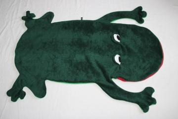 Frosch Kinder Schlafsack Laubfrosch Strampelsack Gr.1 - Handarbeit kaufen