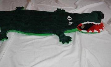 Krokodil Kinder Schlafsack Alligator Gr.2  Strampelsack Tier Schlafsack - Handarbeit kaufen