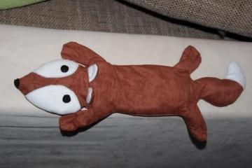 Fuchs Wärmekissen Körnerkissen Fuchs Weizen Kissen - Handarbeit kaufen