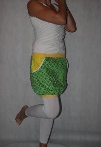 Ballonrock, Ballon-Rock, grüner Rock, bunter Rock Gr. 36 - 44 skirt ballon skirt - Handarbeit kaufen
