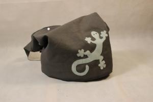 Kunstledertasche Yogatasche Tasche Yoga XXL Umhängetasche Kunstleder Gecko - Handarbeit kaufen