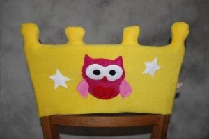 Stuhl Husse Krone Name Stuhlhusse Überwurf Frosch Kindergarten Tagesgruppe (Kopie id: 100205252) - Handarbeit kaufen