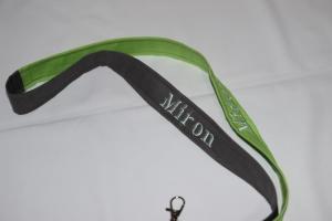 Schlüsselanhänger mit Name Namensbänder Umhängeband  - Handarbeit kaufen