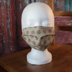 Mundbedeckung Maske Mundmaske Mund-  und Nasenbedeckung Pfoten - Handarbeit kaufen