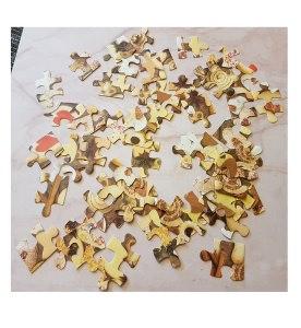 Puzzleteile - Weihnachtsgebäck - Optik