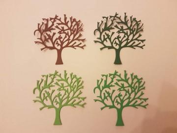 Herbstbaum - Stanzteile - Scrapbooking