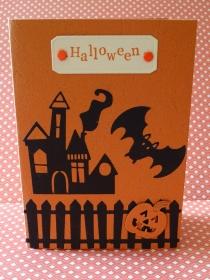 Halloween - Karte - gruselig
