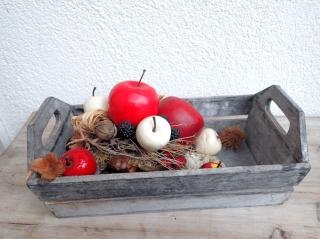 ERNTEDANK dekoratives herbstliches Arrangement / Gesteck DEKO Landhausdeko Shabby