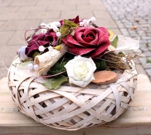 ♥TISCHDEKORATION♥ GESTECK .....schönes, haltbares dekoratives Gesteck