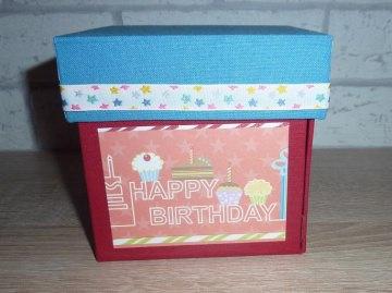 Geldgeschenkverpackung - Happy Birthday - Handarbeit kaufen