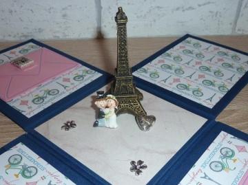 Geldgeschenkverpackung - Hochzeit - Paris