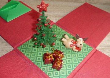 Geldgeschenkverpackung -Weihnachten