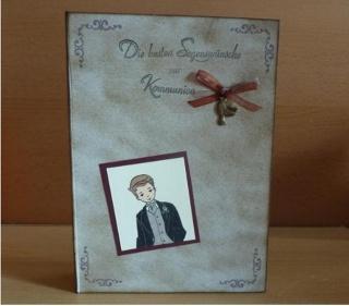 Geschenkverpackung Kommunion - Buch