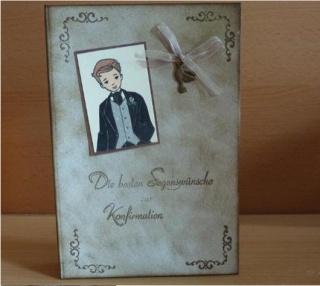 Geschenkverpackung Konfirmation - Buch