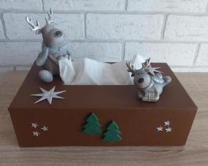 Taschentuch-/Kosmetiktuchbox - Weihnachten - Handarbeit kaufen