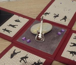 Geldgeschenkverpackung - E-Gitarre