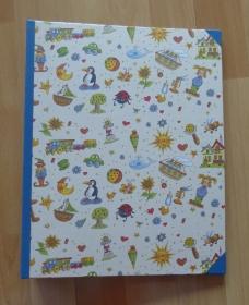 Handgefertigtes Ringbuch für DIN A4 aus Pappe, Papier und Buchleinen - diverse Motive - Handarbeit kaufen