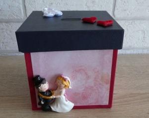 Handgefertigte Spardose - Hochzeit  - Handarbeit kaufen
