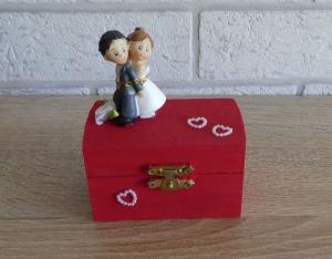 Geschenkverpackung Holztruhe - Hochzeit - Handarbeit kaufen
