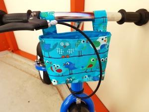 Handgefertigt Lenkertasche Laufradtasche Rollertasche Fahrradtasche Utensilo Geschenk